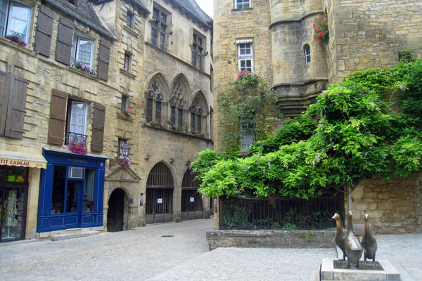 Place aux Oies in Sarlat