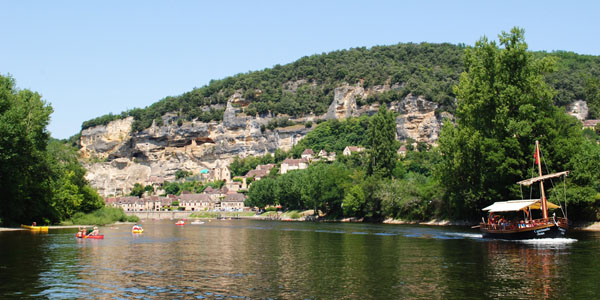 On the Dordogne at La Roque-Gageac