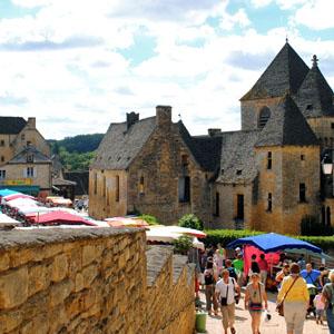 Market day at St. Geniès