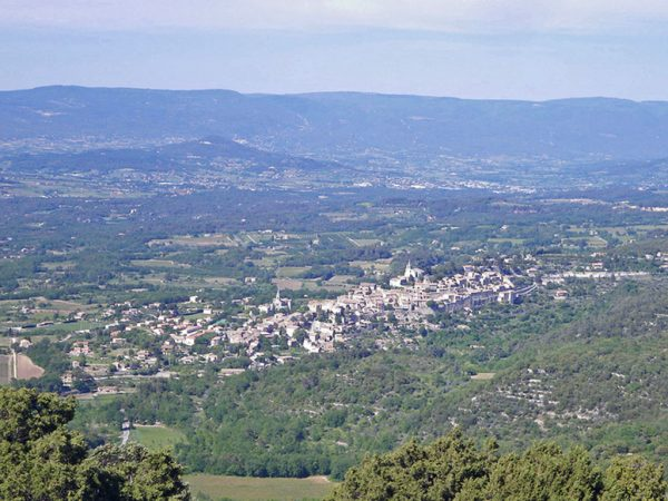 Bonnieux from the Petit Luberon
