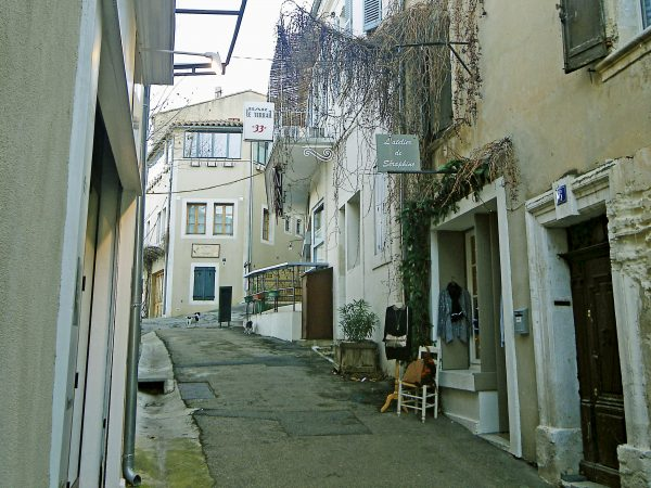 Our street in Bonnieux