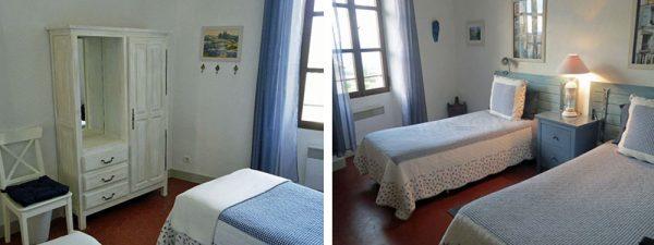 Bonnieux apartment - blue room