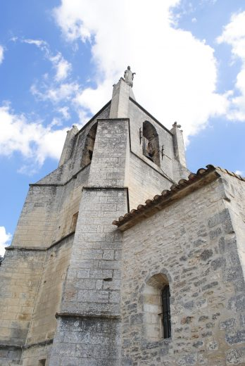 Bonnieux - old church