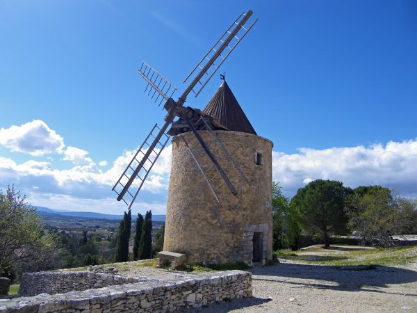 Windmill at Saint-Saturnin-les-Apt