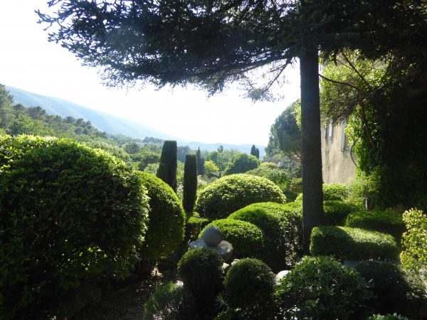 Bonnieux - Louve garden