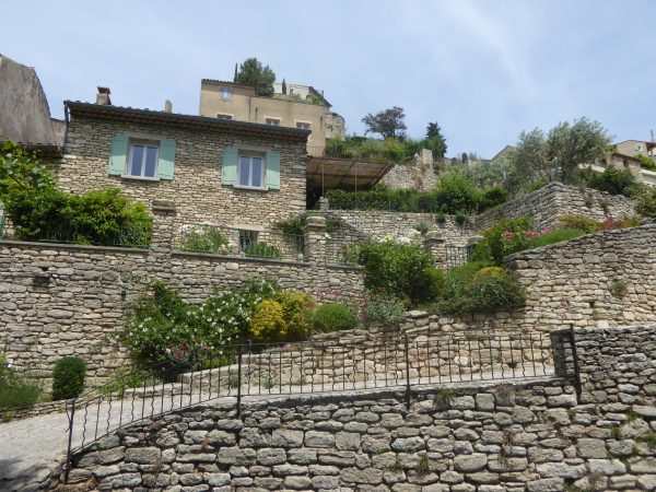 Stone houses in Bonnieux