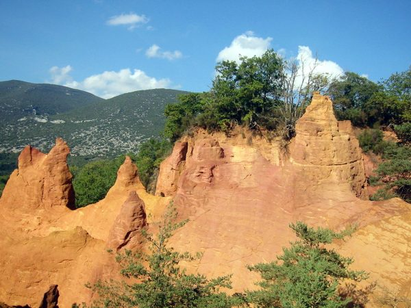 Ochre in Roussillon